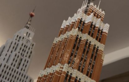 Architect Creates LEGO Detroit