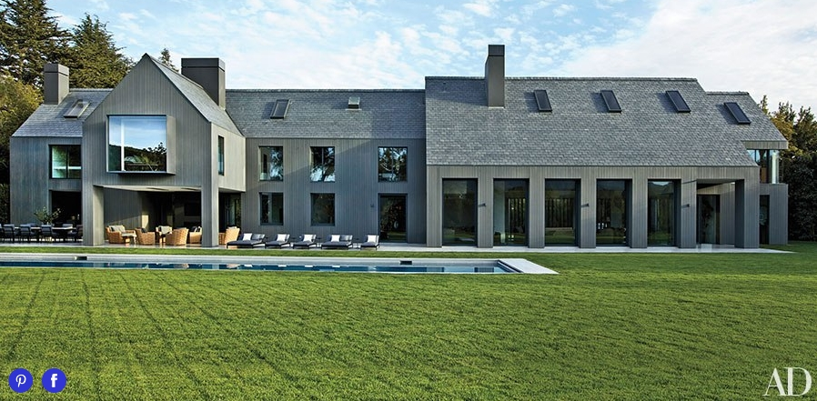 A Couple Celebrity Homes In Architectural Digest A E Pronet